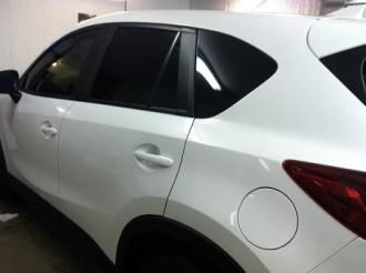 Mazda CX-5 After Mobile Auto Tinting