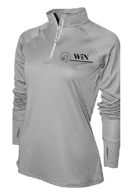 WiN Quarter Zip Performance Pullover
