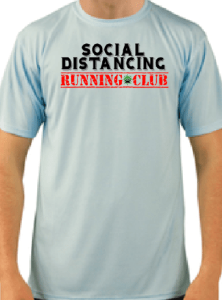 Social Distancing Running Club Shirt