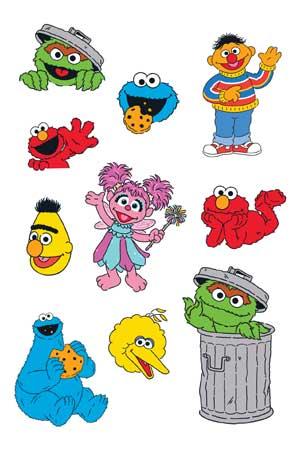 Sesame Street Sheet 1