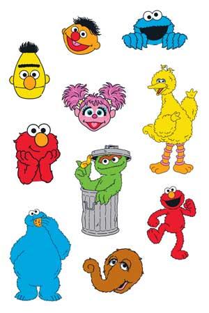 Sesame Street Sheet 3