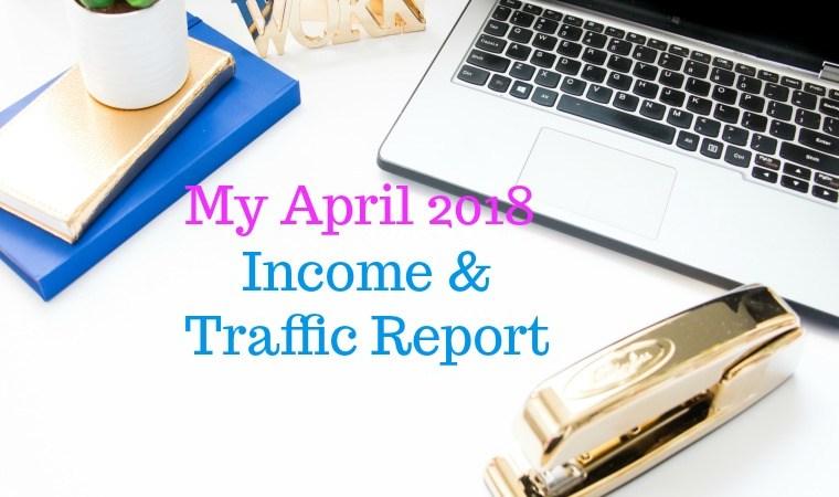 April 2018 Blog Progress Report