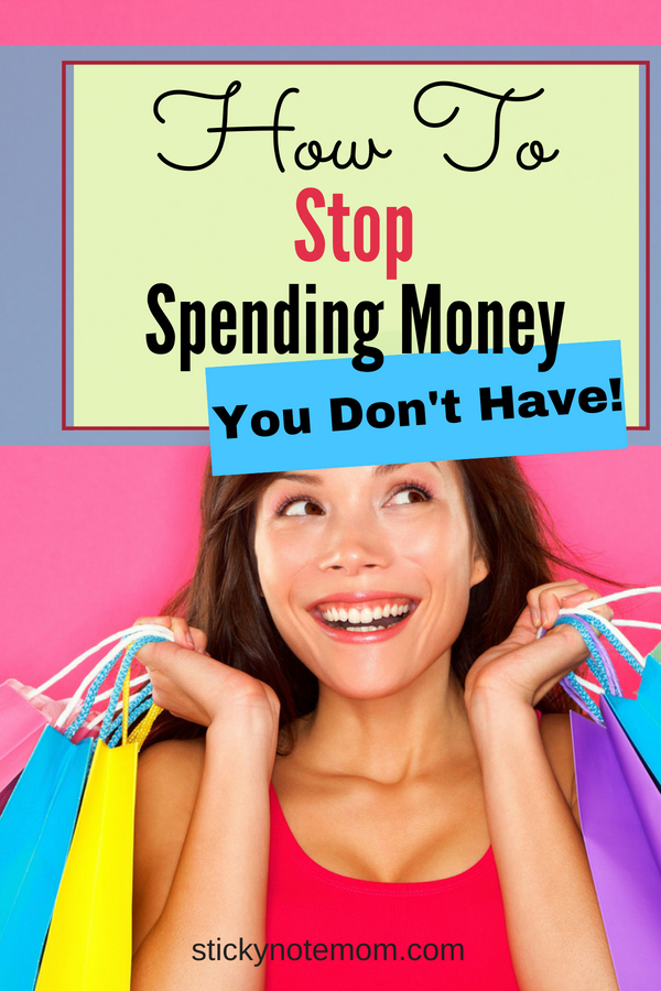Learning how to save money and stop spending money on things is hard. These tips help you learn to stop spending money.