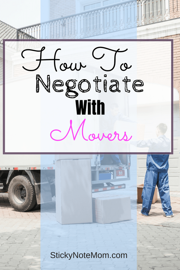 Moving is expensive. Learn how to negotiate using these strategies to keep your moving budget on track.