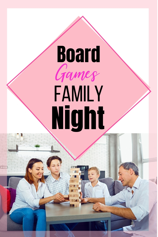 We started playing board games for family night about a year ago. We do it about once a month. It is some good family fun. We love playing board games for family night and when we have guests. #familynight #familyfun