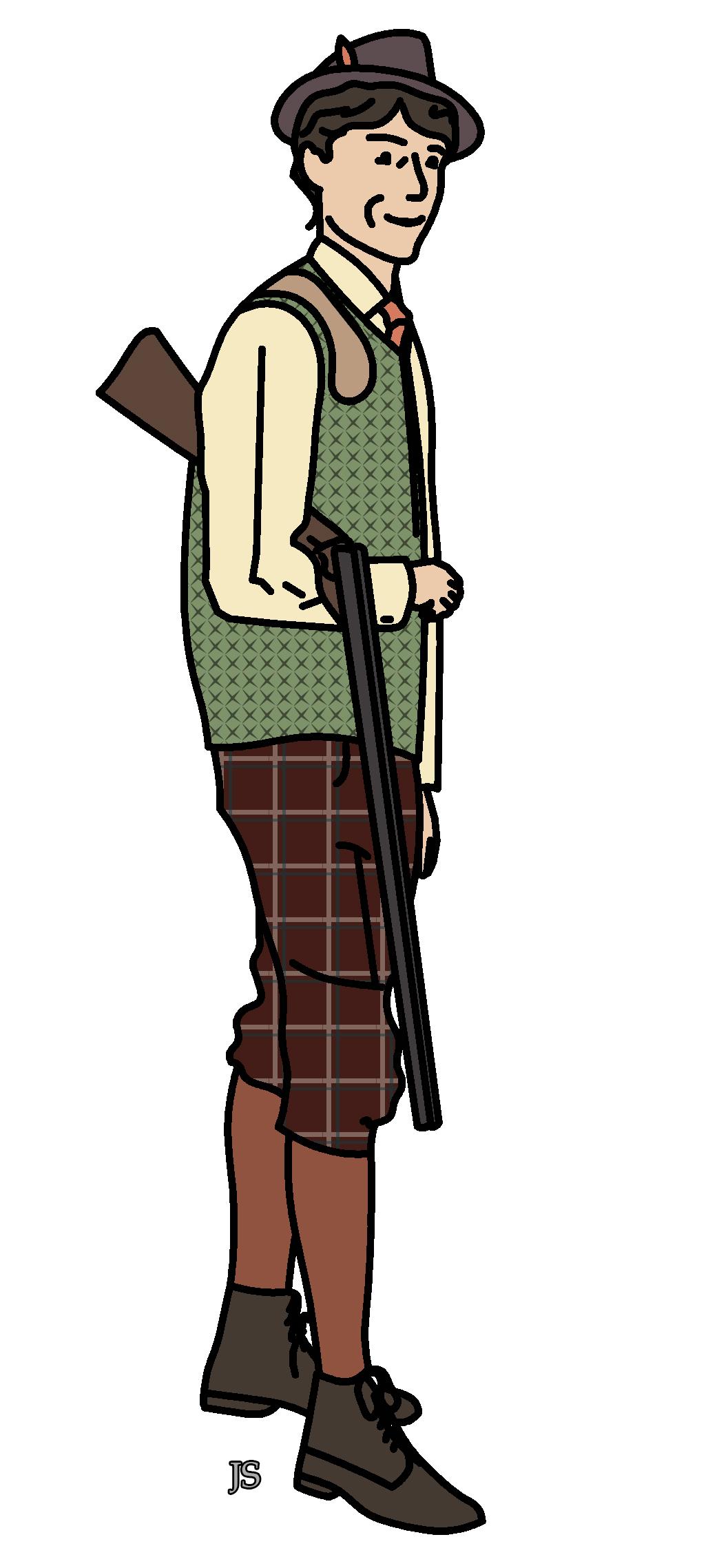 Tenue de chasse avec Barbour Quilted Waistcoat