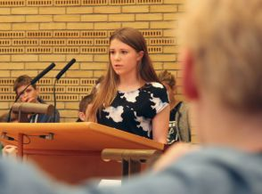 Student addresses Gladsaxe City Council