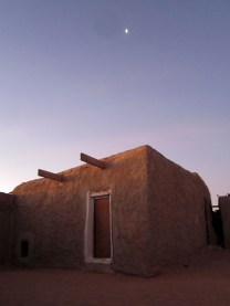 Building in Tindouf refugee camps