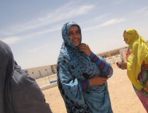 Women in Tindouf refugee camps