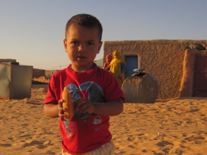Boy in Tindouf refugee camps