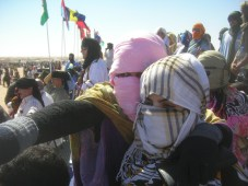 Women at cultural event, Tindouf refugee camps