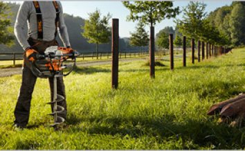 stihl earth augers