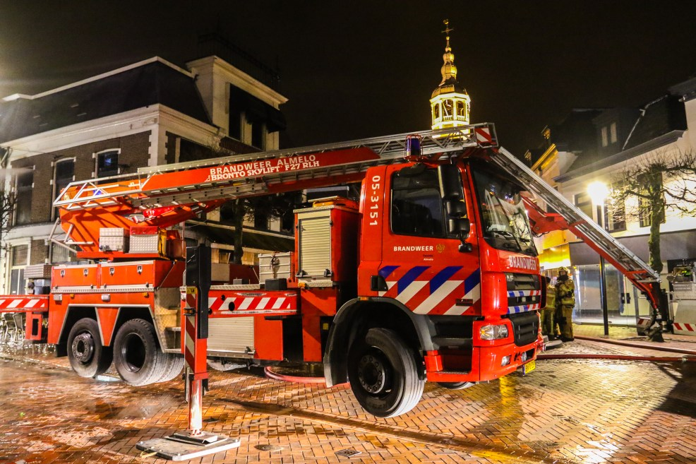 Grote brand Grotestraat Almelo