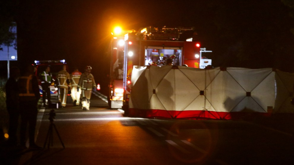 Automobilist overleden bij eenzijdig ongeval in Almelo