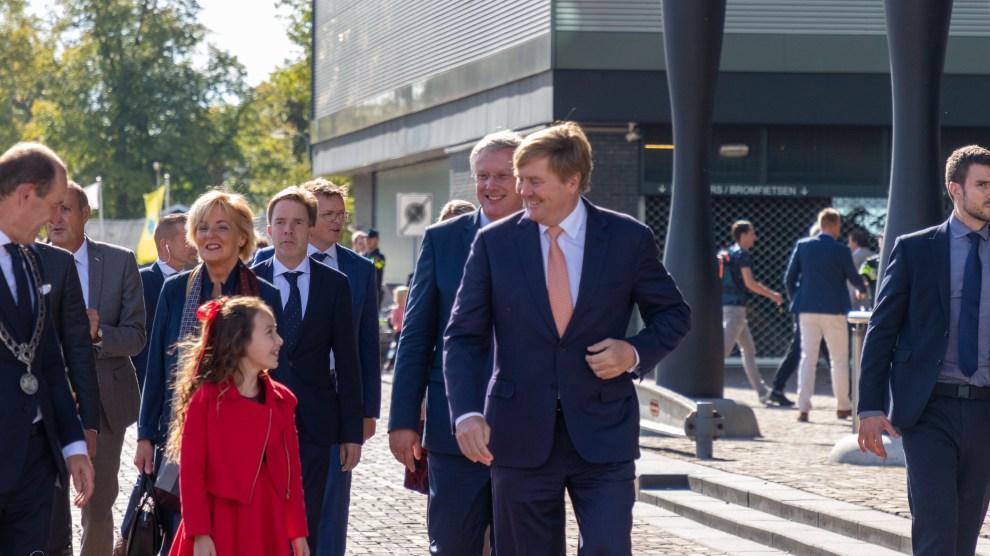Koning Willem-Alexander in Hengelo