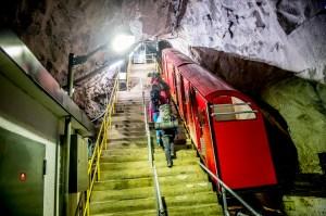 Gaustabanen er en unik og spennende opplevelse i seg selv  (Foto: Thomas Rasmus Skaug / Visitnorway.com)