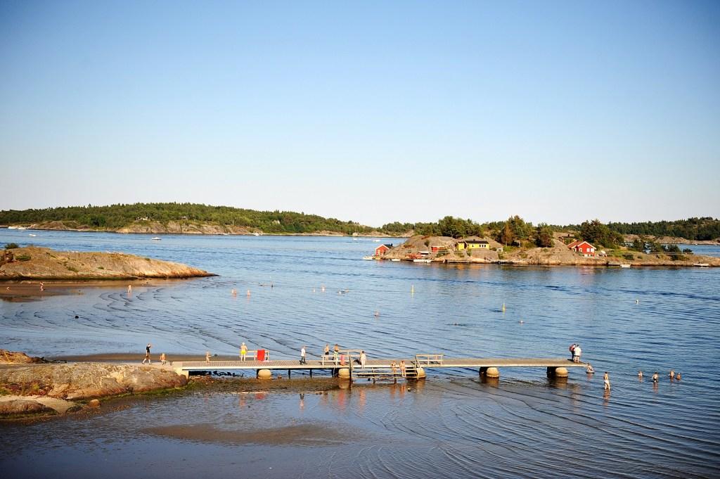 Bilde av brygge på Groos i Grimstad.
