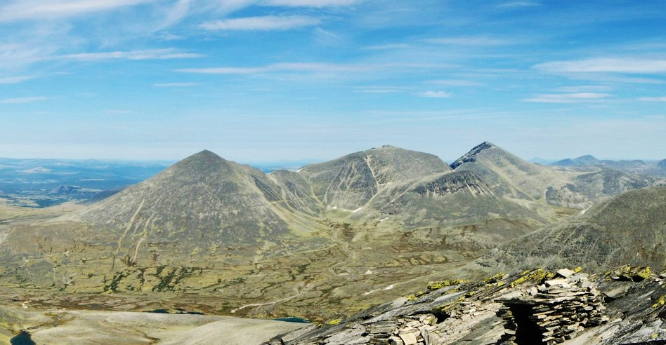 Panorama i Rondane