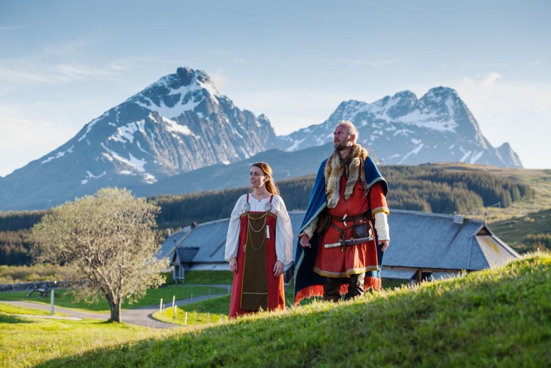 To vikinger i Lofoten