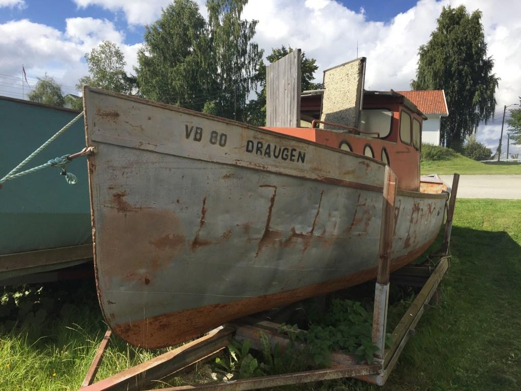 Gammel båt museum Fetsund lenser