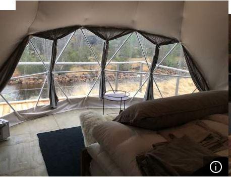 Glamping telt Brokke