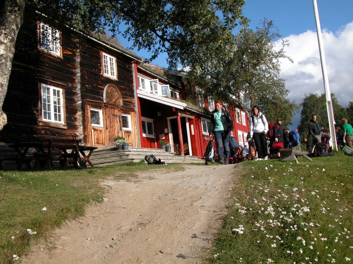 Folk på tur Trøndelag turisthytte