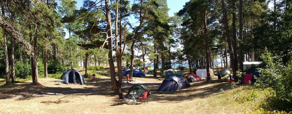 Telt camping Ula Vestfold