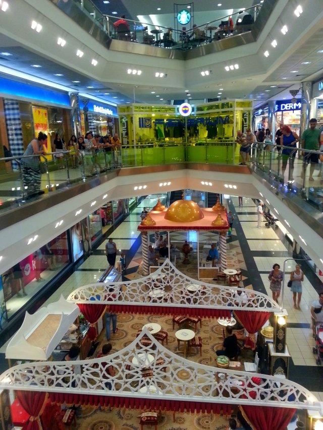 Shopping in Antalya / Tržni centar