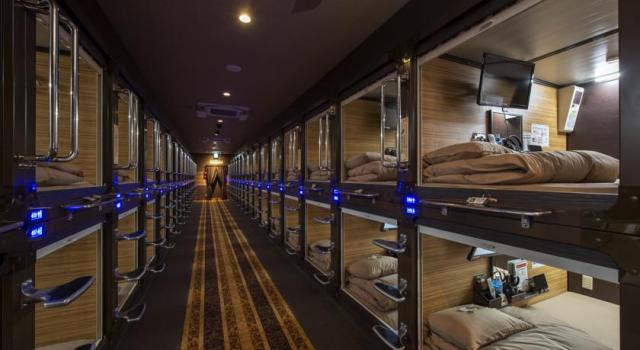 Šta kažete za noć u kapsuli? Futuristički jel da? Podseća na peti element :D / What you can say about night in Capsule Hotel Anshin Oyado Shinjuku? Futuristic right?