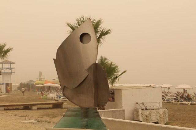 sand storm cyprus