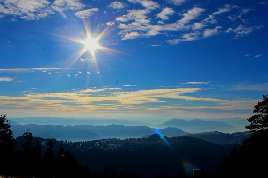 Pogled sa vrha Tornika