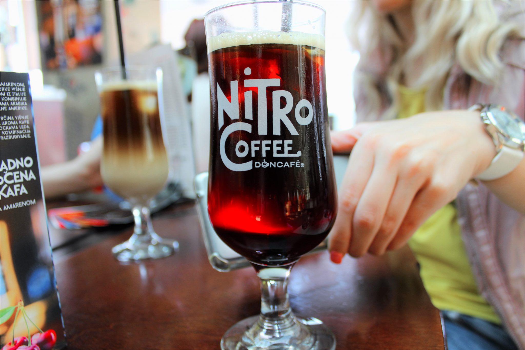 nitro kafa na točenje cafe doncafe