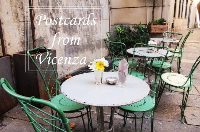 Postcards from Vicenza Italy