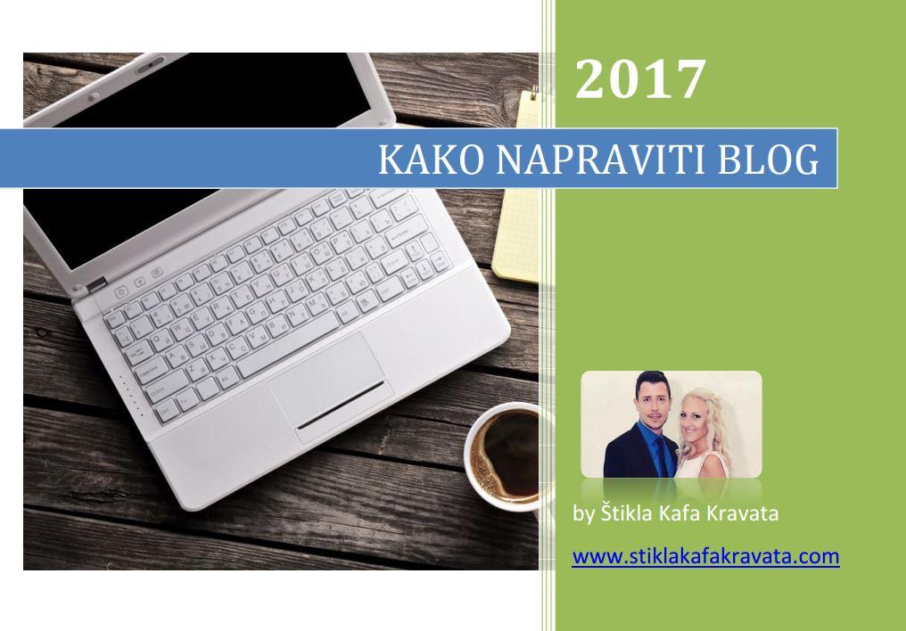 kako napraviti blog korak po korak vodič