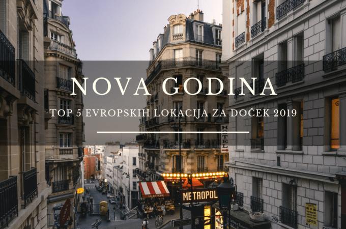 NOVA GODINA 2019 EVROPSKI GRADOVI – TOP 5