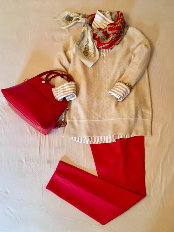 6 outfits mit rot als blickfang5