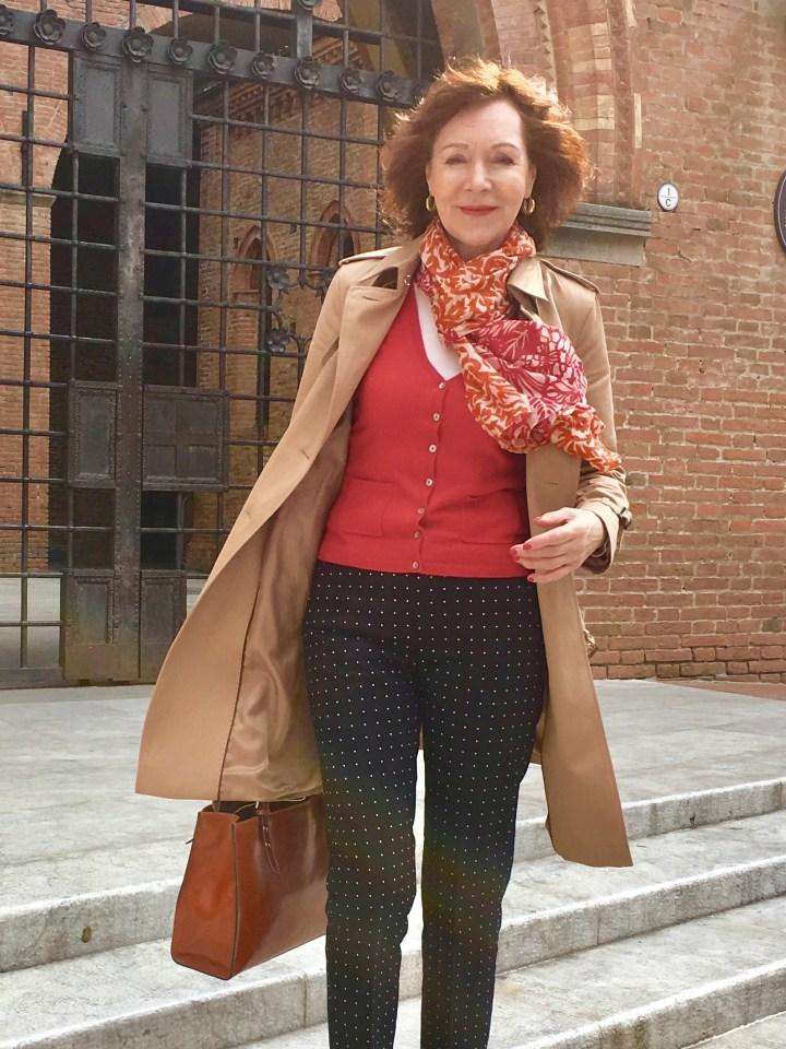 6 outfits mit rot als blickfang titel
