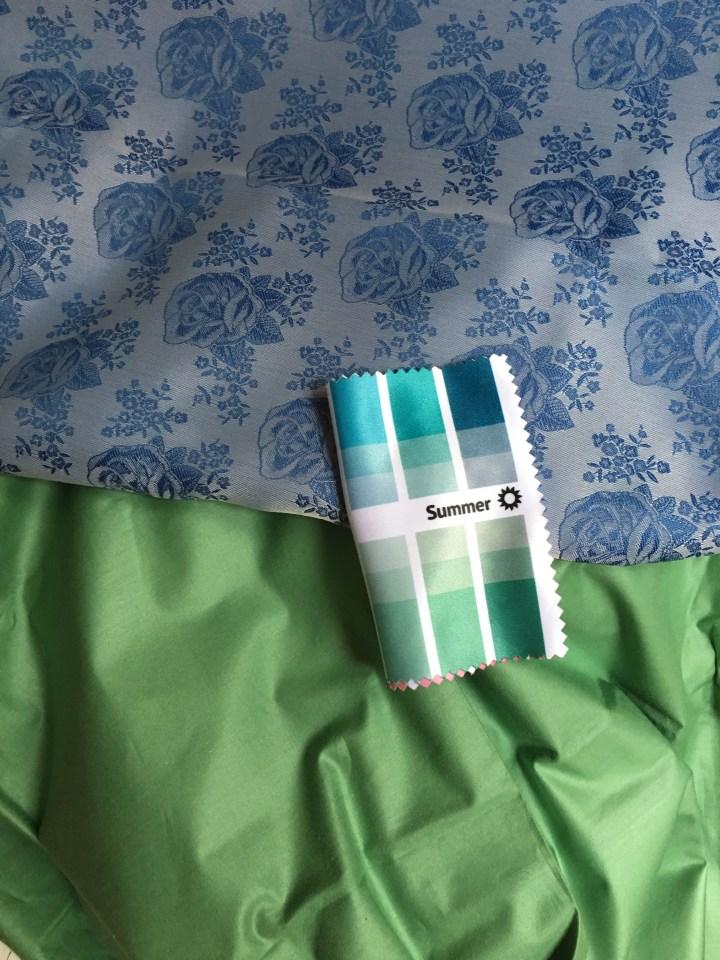 Farbtipps für den Sommertyp blau-grün