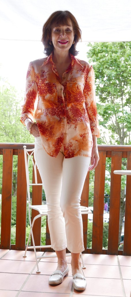 Bluse orange2