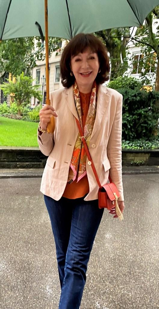 accessoires in orange