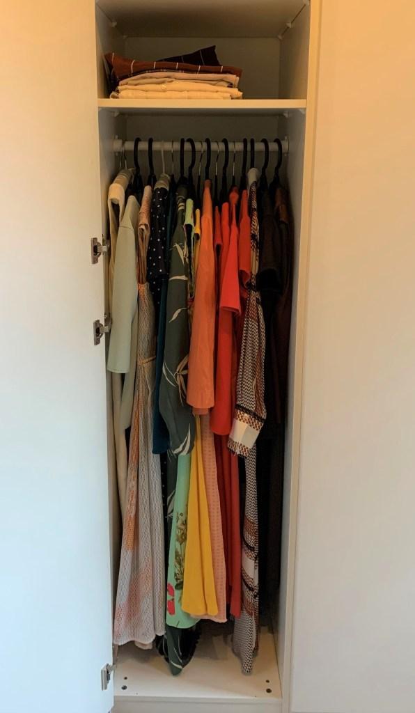 Kleiderschrank umräumen