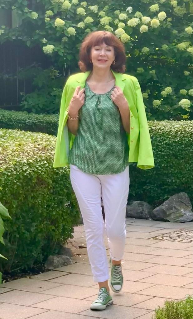 So schön kann man die Farbe Grün kombinieren!