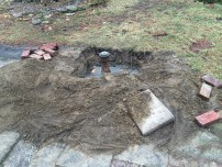 The Backyard Clean Out that Colby Dug Out