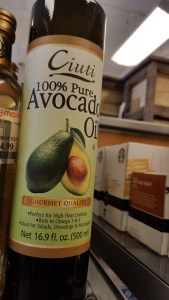 avocado oil, bargain, shopping, musing, S. A. Young