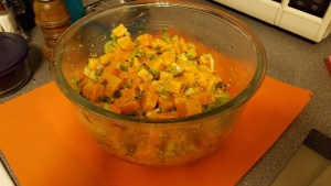 sweet potato salad, S.A. Young, Memorial Day, cookout
