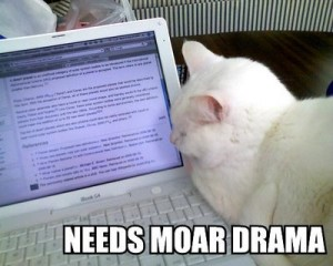 drama, cat, beta reader, S. A. Young