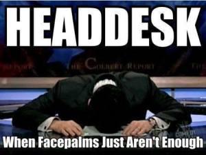 meme, head, desk, social media, publishing, writing, platform building, S.A. Young