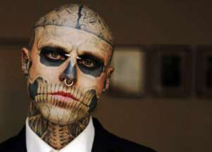 skull tattoo, suit, blogging, Monday, S.A. Young