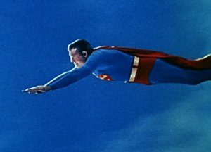 clumsy, blogging, Monday, injury, George Reeves, Superman, S.A. Young