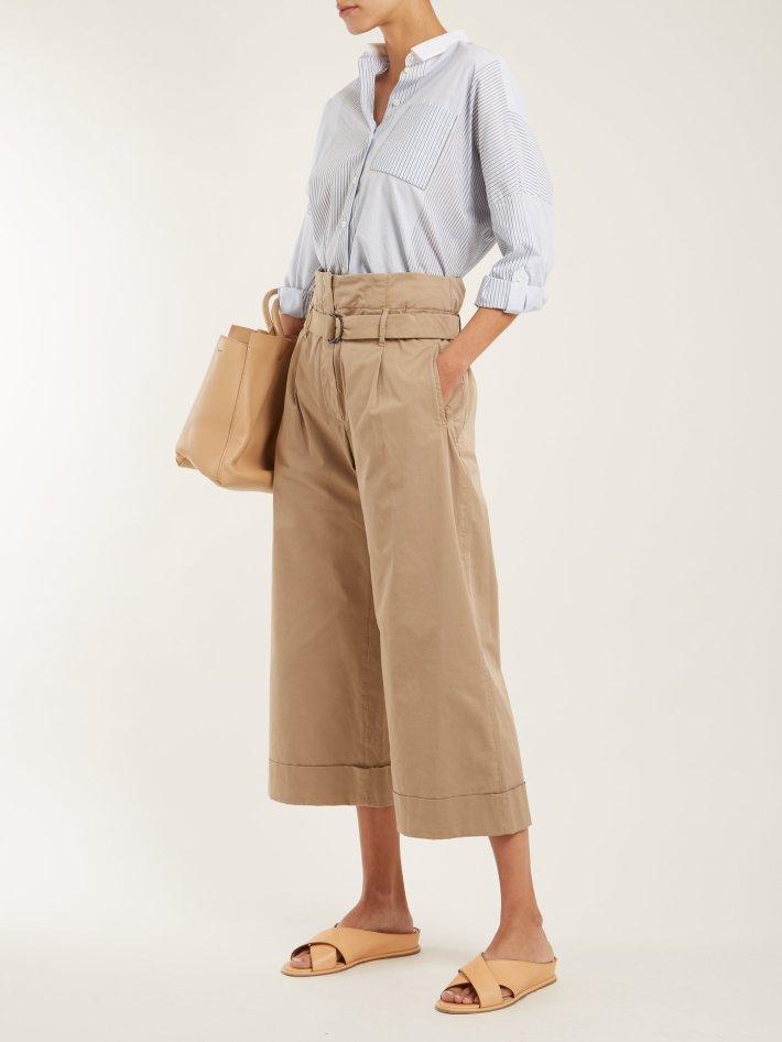 Culotte Hosen bürotauglich stylen